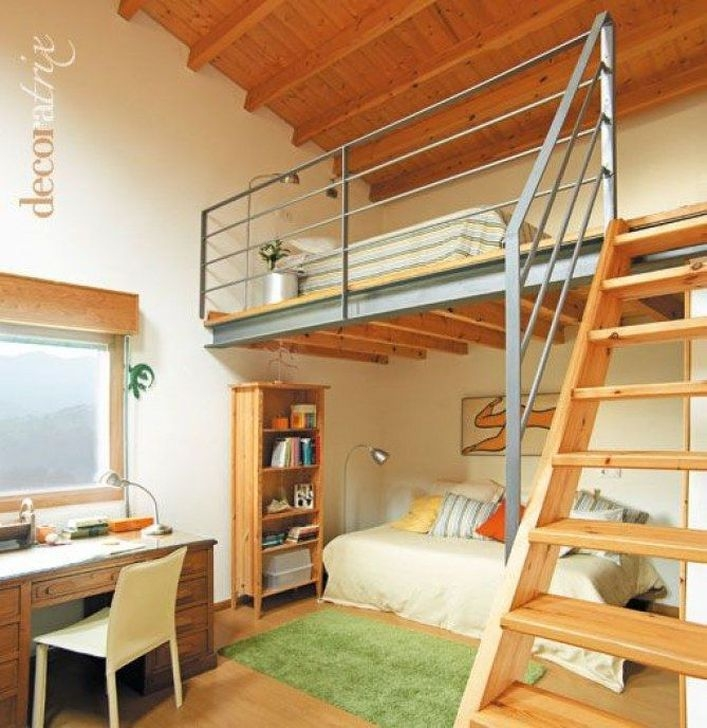 Cozy Loft Home Decor Ideas Thath Everyone Should Have 32