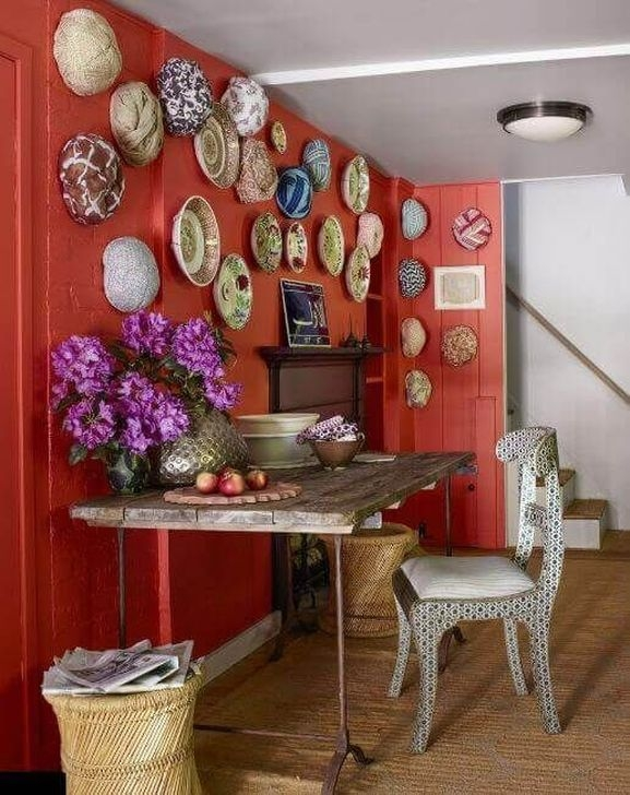 Cozy Red Kitchen Wall Decoration Ideas For You 27
