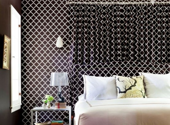 Fabulous Wallpaper Pattern Ideas With Focal Point To Your Space 19