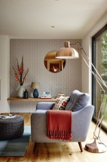 Fabulous Wallpaper Pattern Ideas With Focal Point To Your Space 25