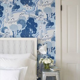 Fabulous Wallpaper Pattern Ideas With Focal Point To Your Space 41