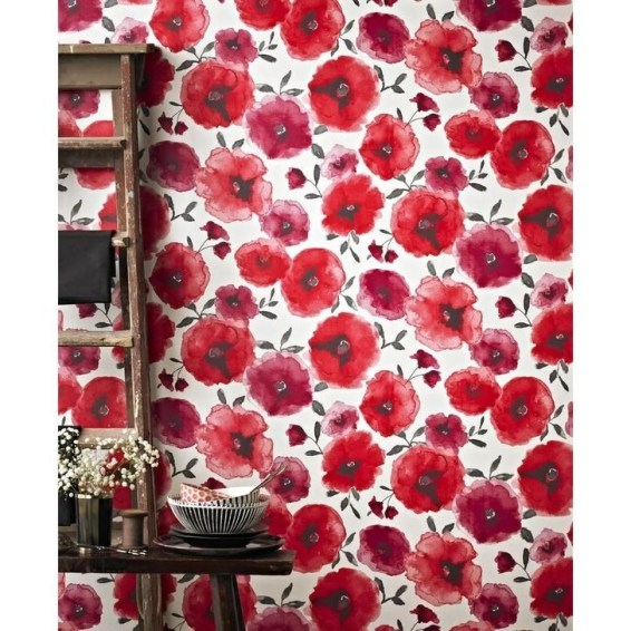 Fabulous Wallpaper Pattern Ideas With Focal Point To Your Space 46