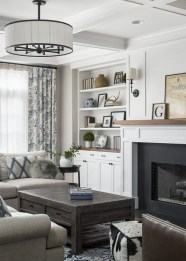 Fancy Family Room Design Ideas That Make You Cozy 31