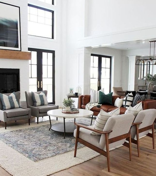 Fancy Family Room Design Ideas That Make You Cozy 38