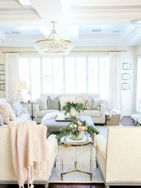 Inspiring French Living Room Decorating Ideas 16