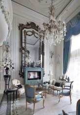 Inspiring French Living Room Decorating Ideas 45