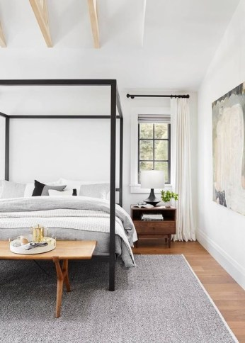 Newest Bedroom Furniture Ideas To Get The Farmhouse Vibe 43