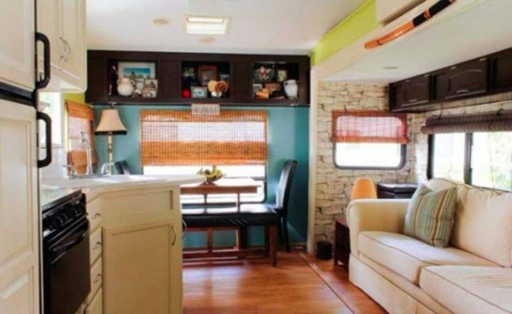 Popular Rv And Camper Hack Decoration Ideas For Family 15