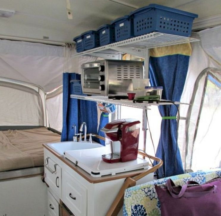 Popular Rv And Camper Hack Decoration Ideas For Family 22