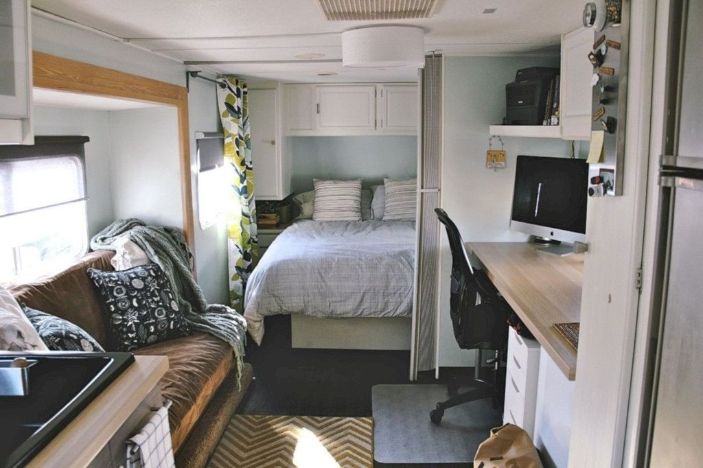 Popular Rv And Camper Hack Decoration Ideas For Family 36