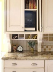 Pretty Hidden Storage Ideas For Kitchen Decor 05