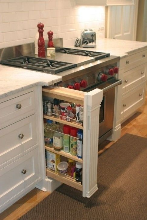 Pretty Hidden Storage Ideas For Kitchen Decor 10