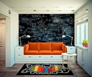 Relaxing Living Room Design Ideas With Orange Color Themes 22