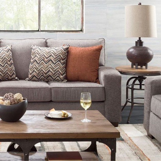 Relaxing Living Room Design Ideas With Orange Color Themes 23
