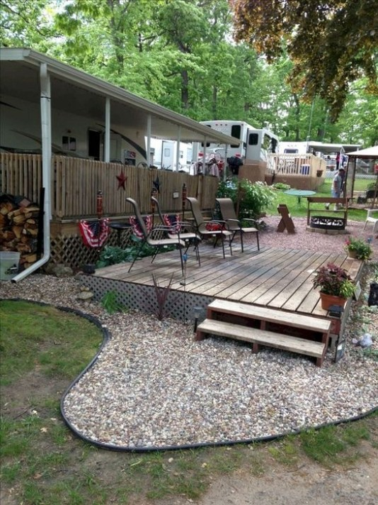 Classy Rv Camping Design Ideas For Summer Vacation 04