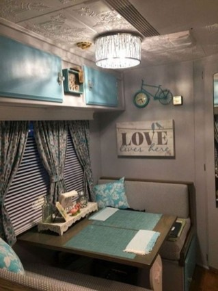 Classy Rv Camping Design Ideas For Summer Vacation 14