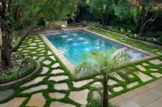 Comfy Backyard Designs Ideas With Swimming Pool Looks Cool 15