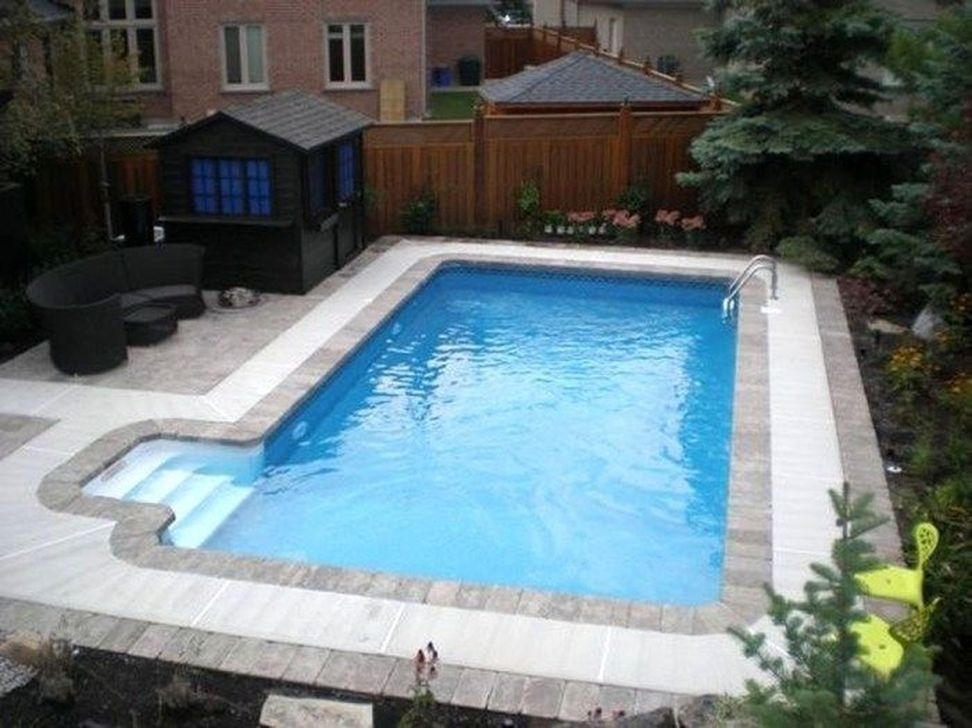 Comfy Backyard Designs Ideas With Swimming Pool Looks Cool 31