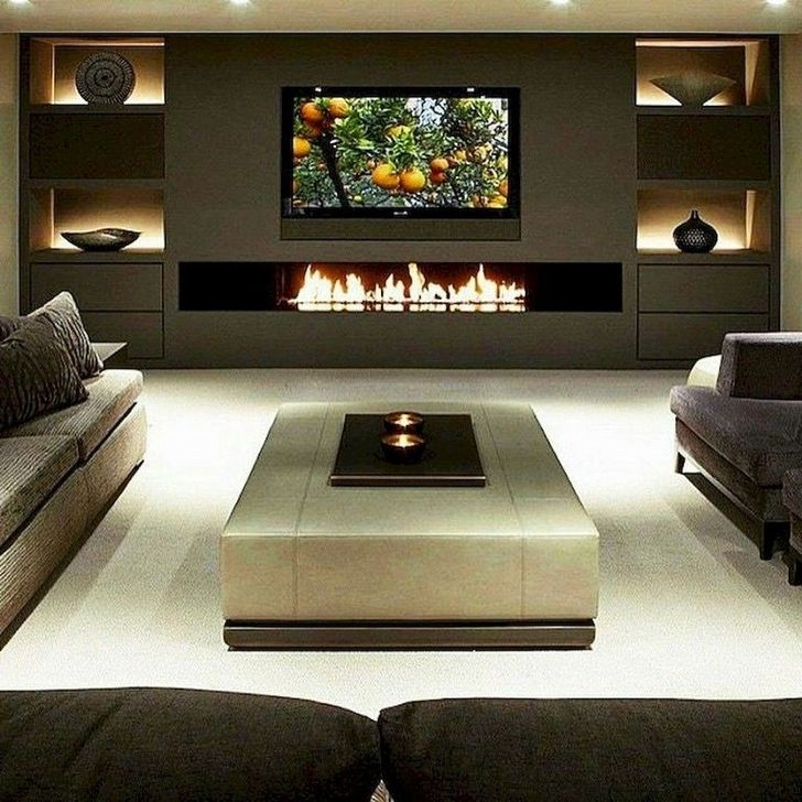 Fabulous Living Room Design Ideas That Trendy Now 46