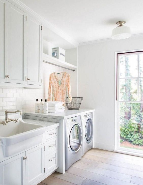 Fancy Laundry Room Layout Ideas For The Perfect Home 15
