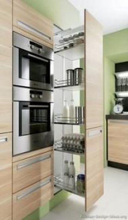 Fancy Painted Kitchen Cabinets Design Ideas With Two Tone 07