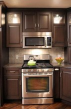 Fancy Painted Kitchen Cabinets Design Ideas With Two Tone 26