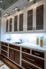Fancy Painted Kitchen Cabinets Design Ideas With Two Tone 29