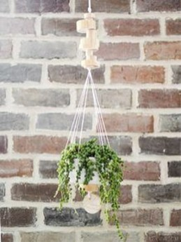 Fascinating Diy Wood And Leather Trellis Plant Ideas For Wall To Try 21