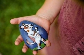 Glamour Diy Painted Rocks Animals Cats Ideas For Summer 22