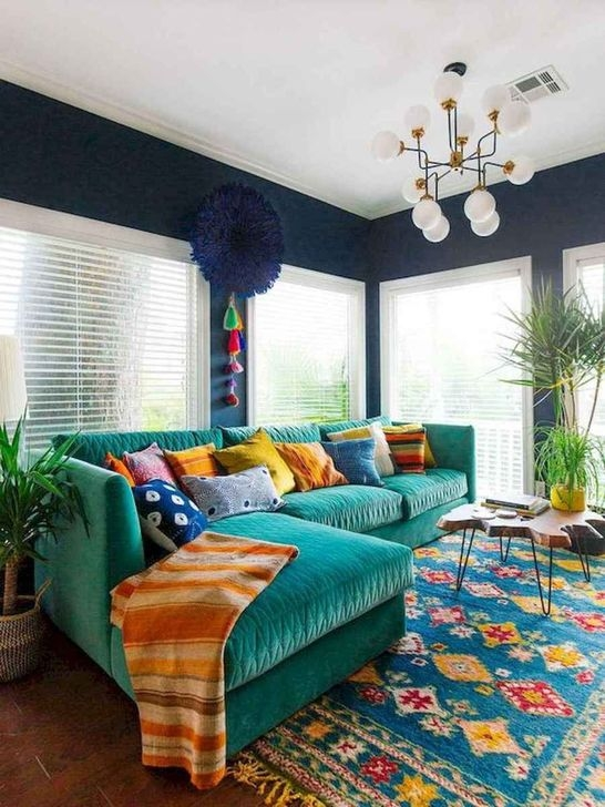 Luxury Colorful Apartment Décor And Remodel Ideas For Summer 27