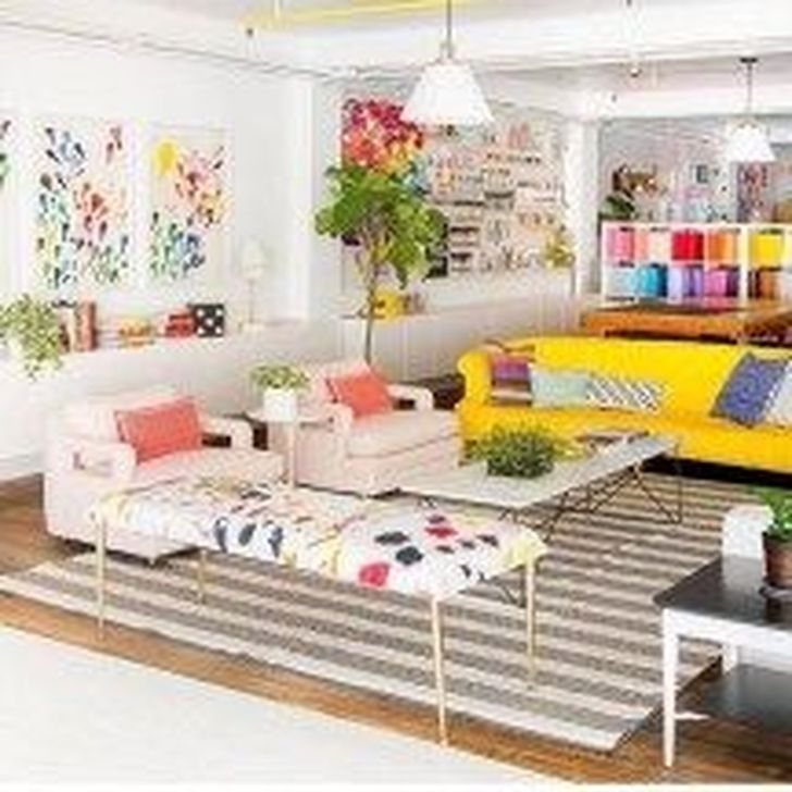 Luxury Colorful Apartment Décor And Remodel Ideas For Summer 39