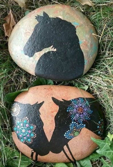 Marvelous Diy Projects Painted Rocks Animals Horse Ideas For Summer 08