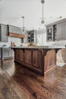 Rustic Wood Floor Ideas For Amazing Kitchen 37