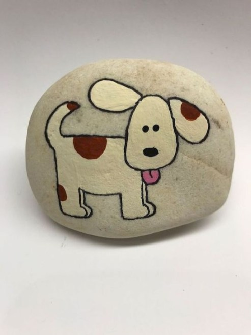Splendid Diy Projects Painted Rocks Animals Dogs Ideas For Summer 23