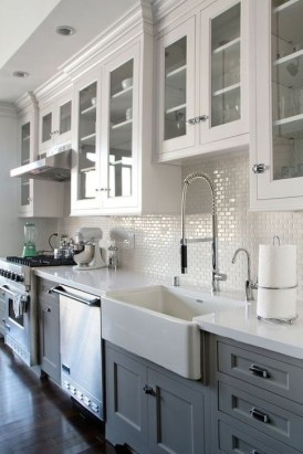 Stylish Farmhouse Kitchen Design Ideas To Bring Classic Look 07