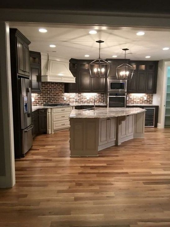 Unordinary Farmhouse Kitchen Ideas For Your House Design 46