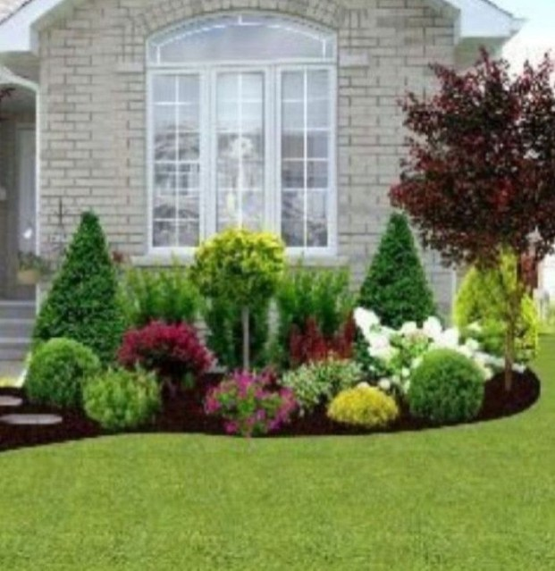Unusual Front Yard Landscaping Design Ideas That Looks Great 10