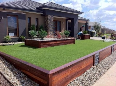Unusual Front Yard Landscaping Design Ideas That Looks Great 21