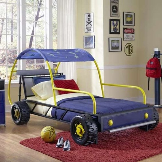 Astonishing Car Bed Designs Ideas That Every Kids Must See 41
