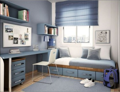Comfy Small Bedroom Ideas For Your Son To Try 30