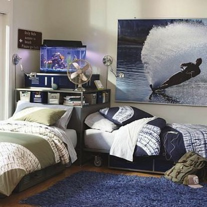 Comfy Small Bedroom Ideas For Your Son To Try 32