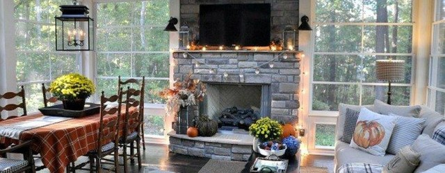 Extraordinary Fall Porch Ideas That Will Be Surely Comfortable 14