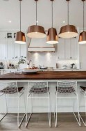 Hottest Copper Rose Gold Kitchen Themes Decorations Ideas 27
