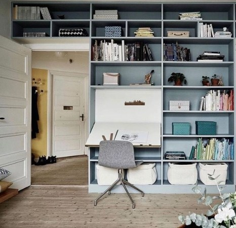 Outstanding Mini Office Design Ideas In The Living Room 01