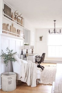 Outstanding Mini Office Design Ideas In The Living Room 19