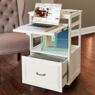 Outstanding Mini Office Design Ideas In The Living Room 30