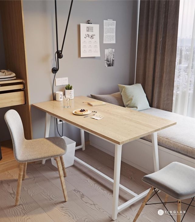 Outstanding Mini Office Design Ideas In The Living Room 39
