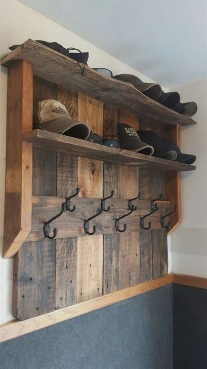 Relaxing Wooden Rack Ideas To Be Applied Into Any Home Styles 21