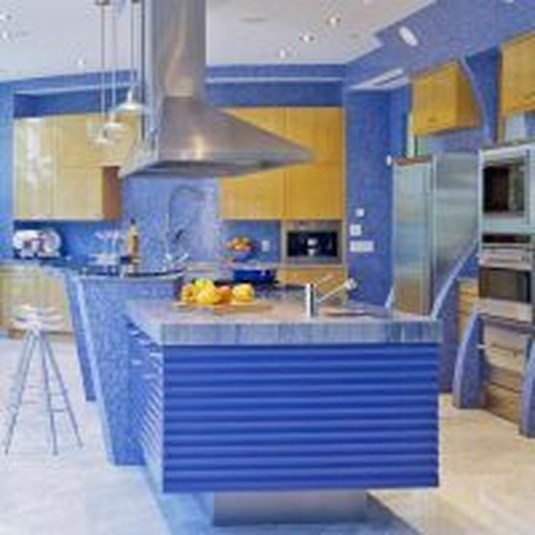 Splendid Kitchen Designs Ideas With Tones Of Vibrant Colors 04