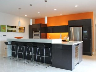 Splendid Kitchen Designs Ideas With Tones Of Vibrant Colors 32